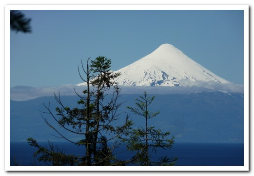 Back at Puerto Varas - Volcan Osorno on a better day