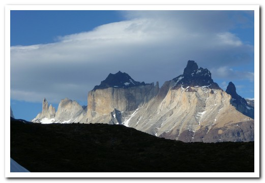 Cuernos from the Valle Frances