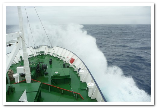 Drake Passage - big waves, rock and roll, sleep on floor