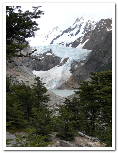 One of many glaciers
