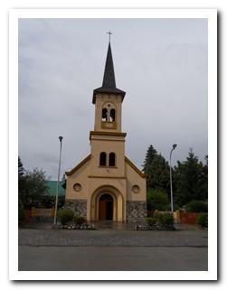The church in El Bolsón