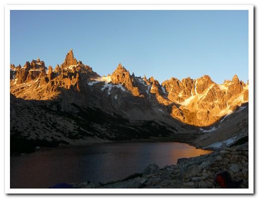 Dawn at Refugio/camping Frey
