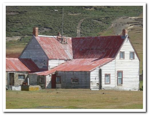Saunders farm house