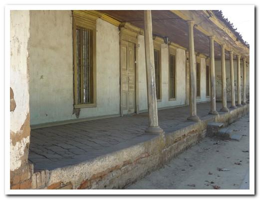 Colonial building in Santa Cruz