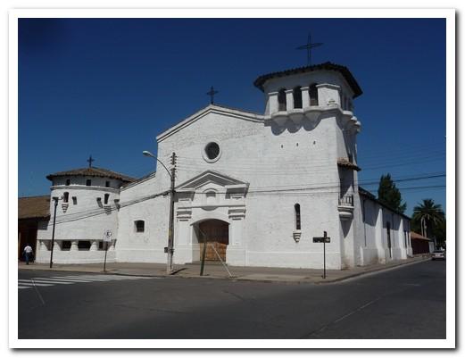 Church at Santa Cruz