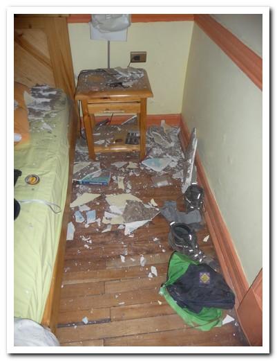 ... leaving a big mess