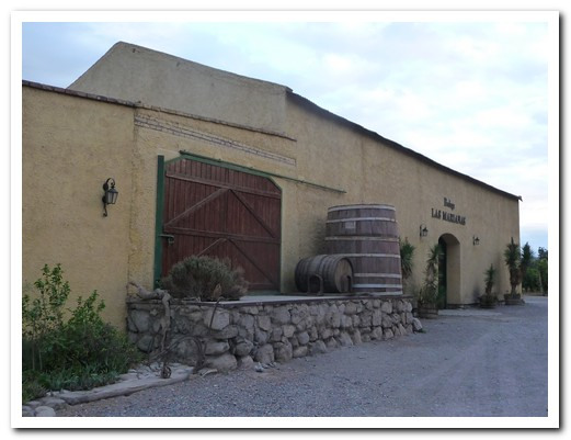 The adobe Bodega Las Marianas