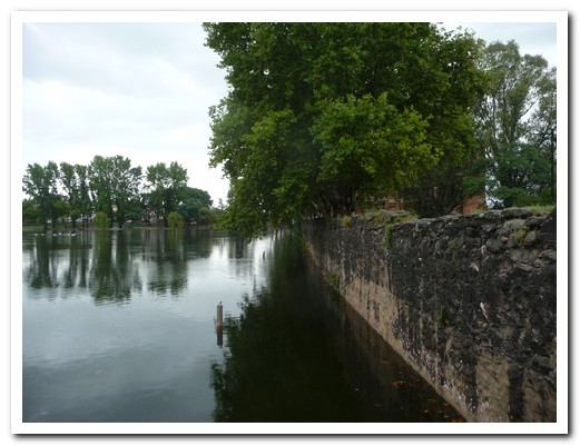 The Jesuits built this dam near Alta Gracia