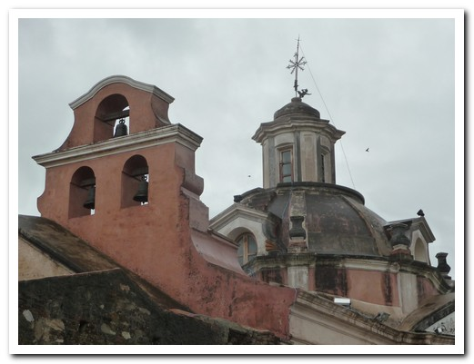 Roof and bells of Alta Gracia