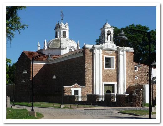The Church attached to Estancia Jesus Maria