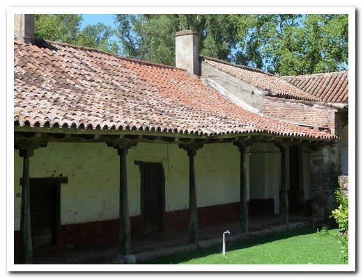 Inside the Estancia Santa Catalina