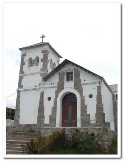 The church at Tafí