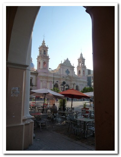 Salta´s Cathedral on the Plaza