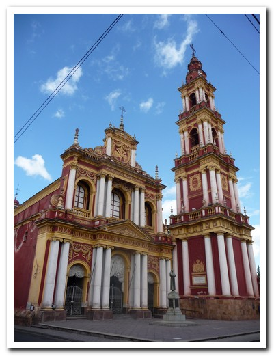 Church of San FRancisco in Salta