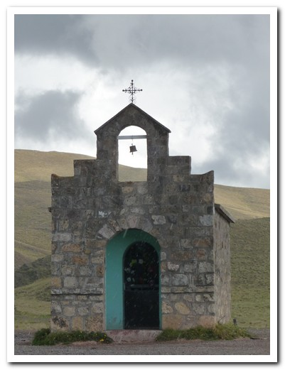 A small Chapel at the 3400 metre pass into Cachi