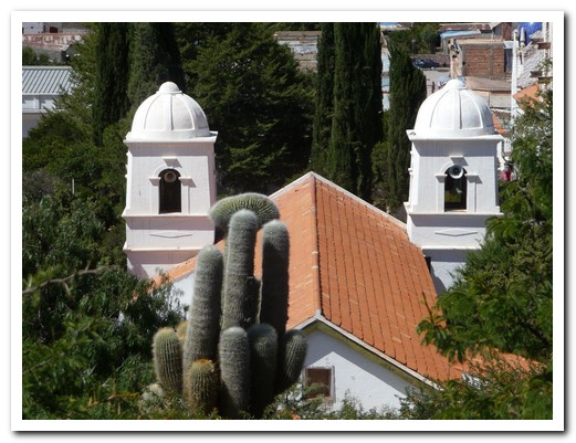 Humahuaca´s Church was remodelled in 1721