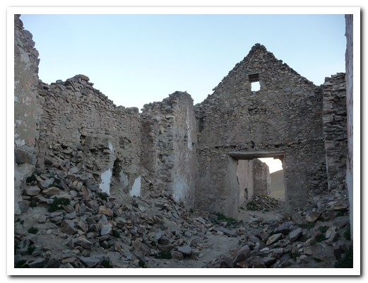 Remains of one of the churches in San Antonio