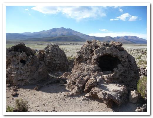 Necropolis contains remains of pre Inca people