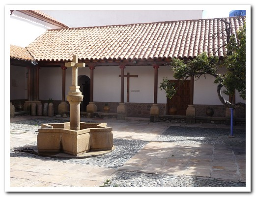 Courtyard of the Convent