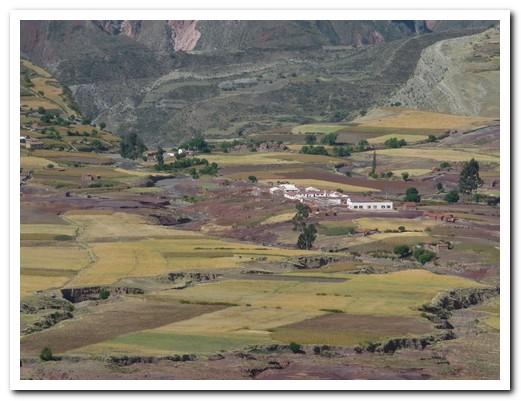 The pueblo of Maragua inside a volcano crater
