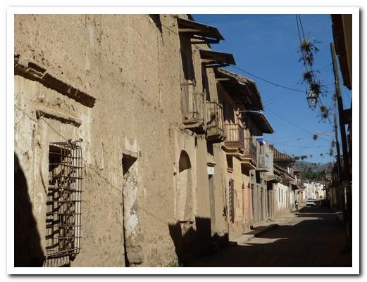 Cobbled street in Tarata