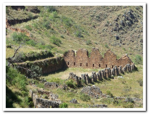 This is the largest Inca roofed structure discovered