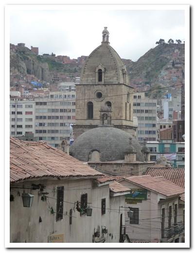The back of Iglesia San Francisco