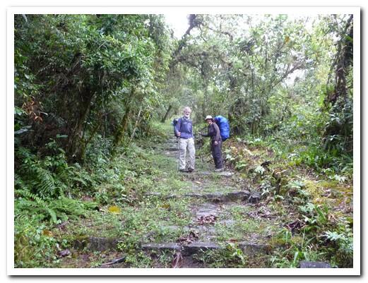 Climbing the Cuesta del Diablo (Devil's Hill)
