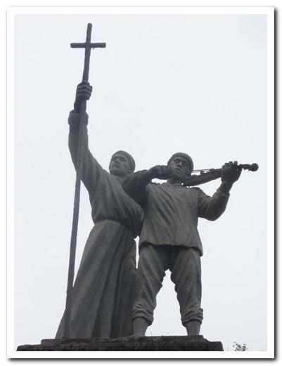 Statue in San Ignacio