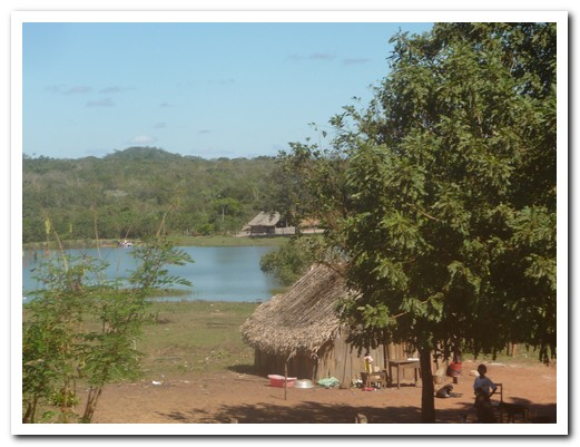 Typical Chiquitana village
