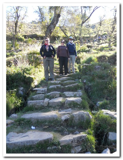 Inca Steps on the Isla del Sol