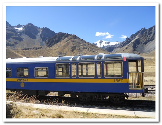 Our train to Cusco