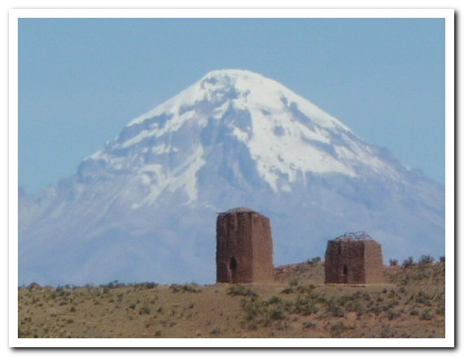Aymara burial towers, 800 years old