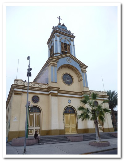 Cathedral at Iquique