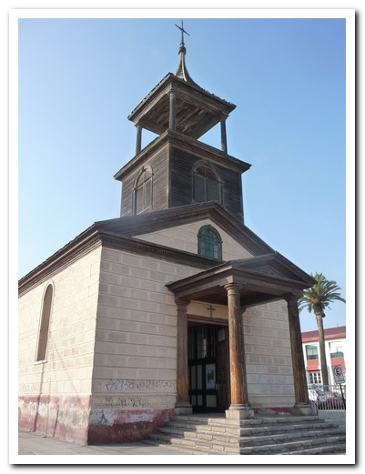 La Serena has 29 churches
