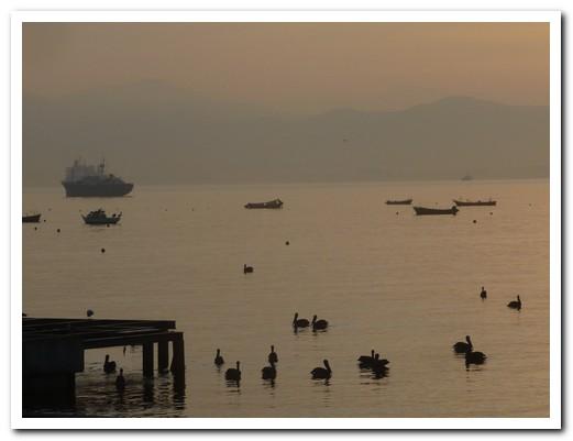 Dawn on Chile´s north coast