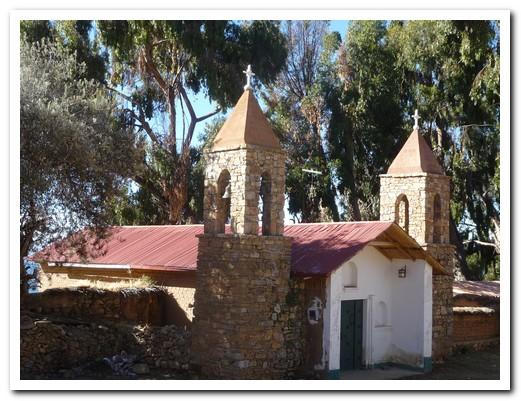 Church on Isla del Sol