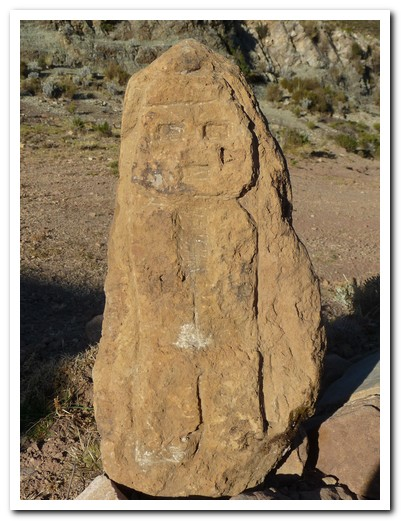 Inca stone carving