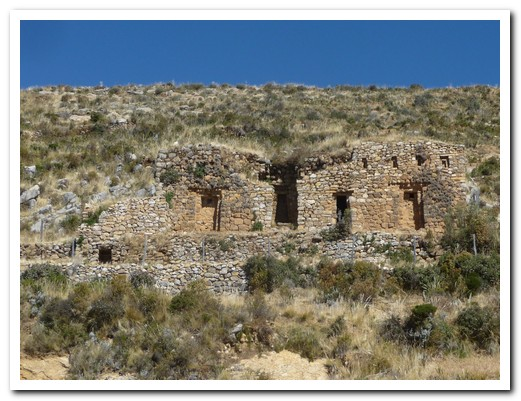 Ruins of Inca Palace on Isla del Sol