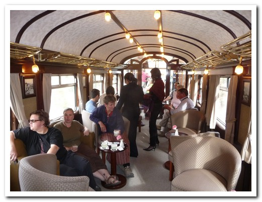 The bar carriage