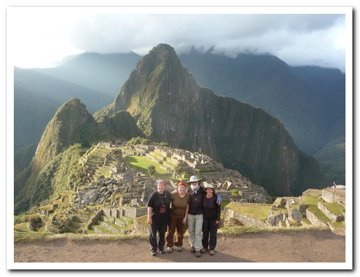 Machu Picchu - we made it!