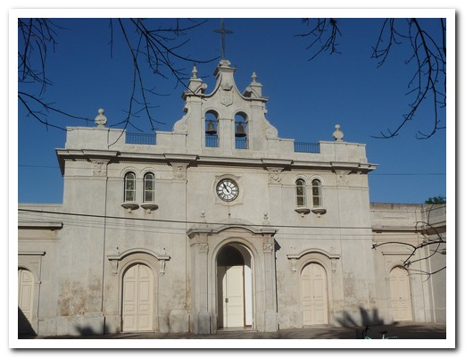 Carmelo´s church was built to give thanks after a Cholera epidemic