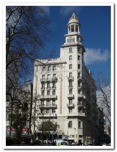 Building in the center of Montevideo