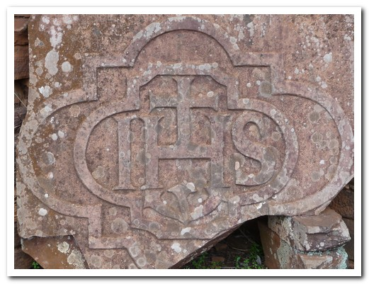 Symbol of La Compañía de Jesús