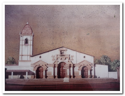 How the church once looked