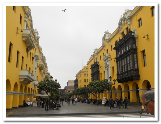 Lima downtown
