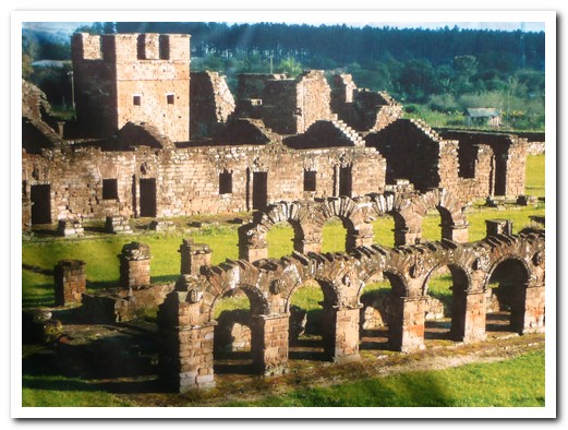 Trinidad is the best preserved/restored of the Jesuit Missions