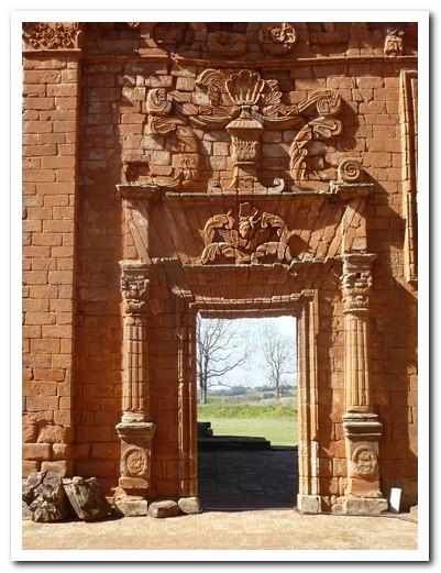 Doorway at the church