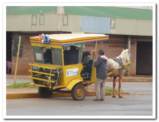 A taxi in Paraguay