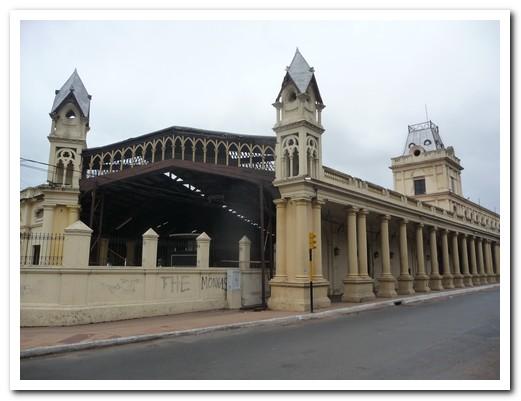 Asunción´s old railway station